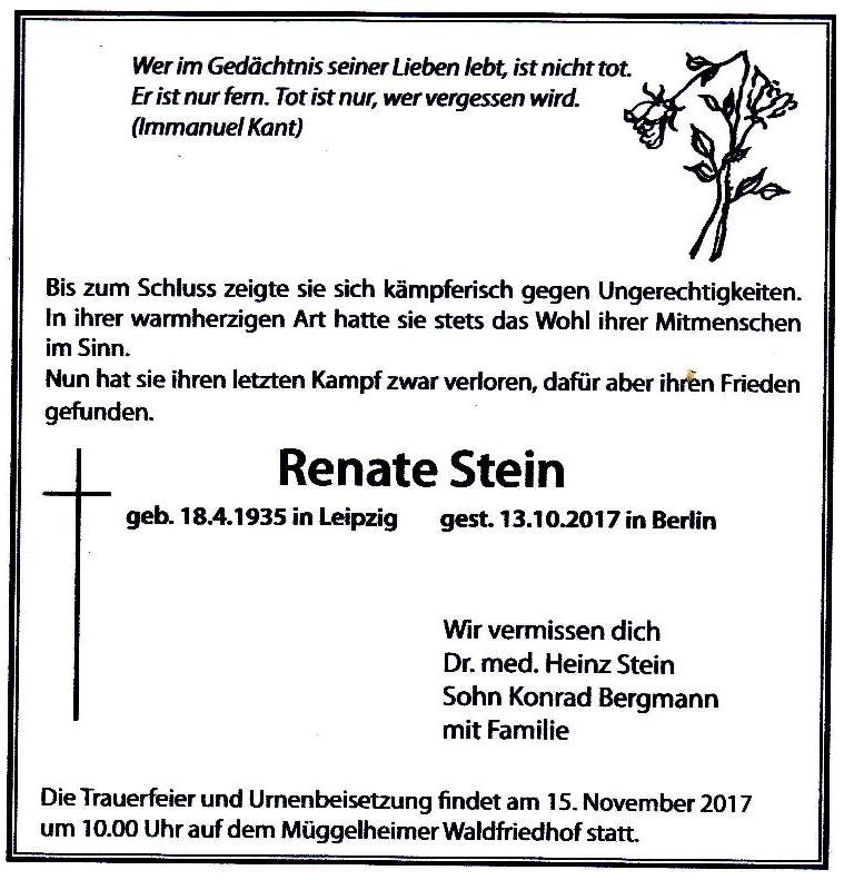 Renate Stein
